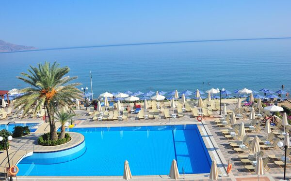 Holidays at Hydramis Palace Beach Resort Hotel in Kavros, Crete