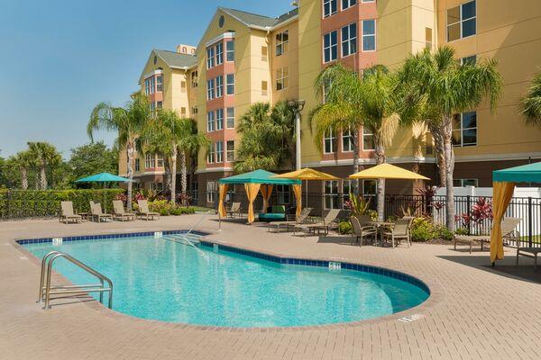 Holidays at Homewood Suites Universal Orlando Hotel in Orlando International Drive, Florida