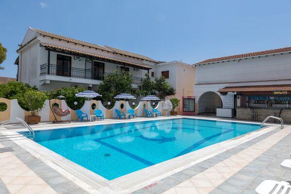 Holidays at Lefkimi Hotel in Kavos, Corfu