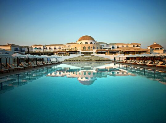 Holidays at Mitsis Laguna Resort and Spa in Anissaras, Hersonissos
