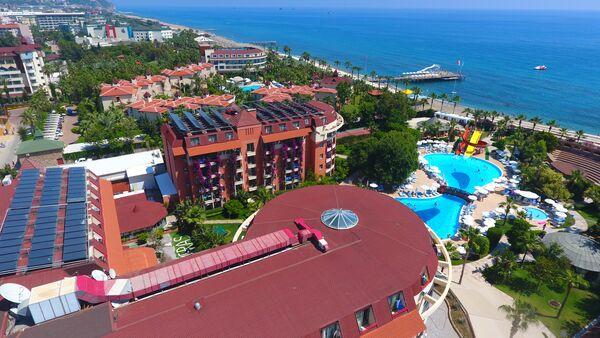 Holidays at Palmeras Beach Hotel in Konakli, Antalya Region