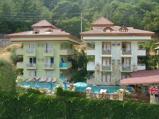 Holidays at Castle Apartments in Icmeler, Dalaman Region