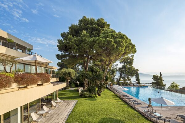 Holidays at Kontokali Bay Resort and Spa Hotel in Kontokali, Corfu