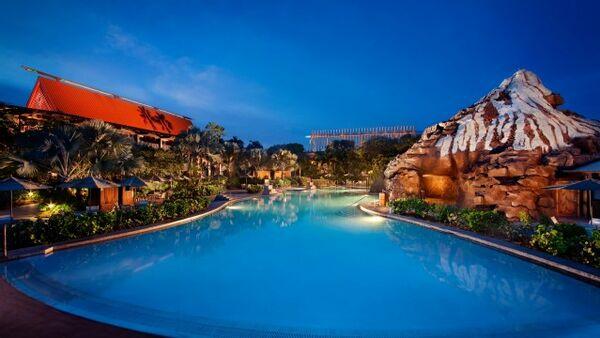 Holidays at Disney's Polynesian Resort in Disney, Florida
