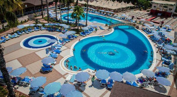 Holidays at Lonicera World Hotel in Turkler, Konakli