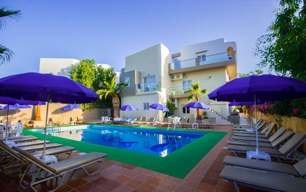 Holidays at Kastro Beach Apartments in Malia, Crete