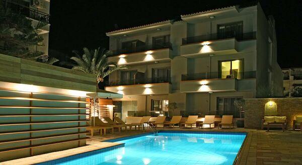 Holidays at Bourtzi Boutique Hotel in Skiathos Town, Skiathos