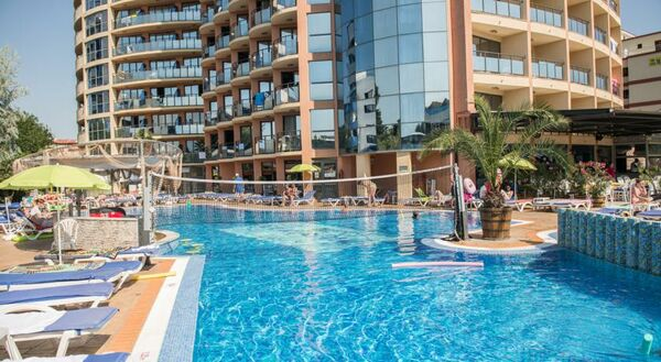 Holidays at Smartline Meridian Hotel in Sunny Beach, Bulgaria