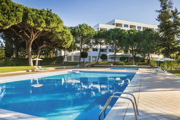 Holidays at The Patio Suite Hotel in Olhos de Agua, Albufeira
