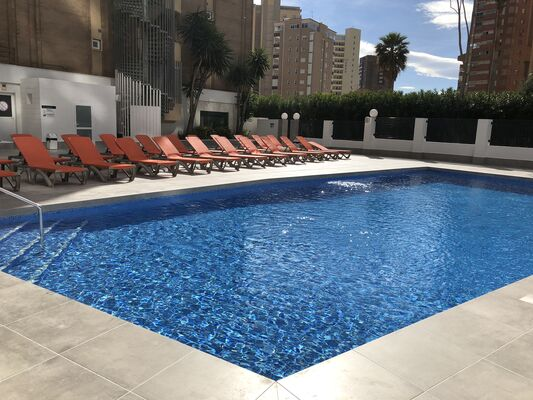 Holidays at Amalia Apartments in Benidorm, Costa Blanca