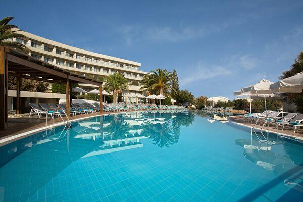 Holidays at Agapi Beach Hotel in Amoudara, Crete