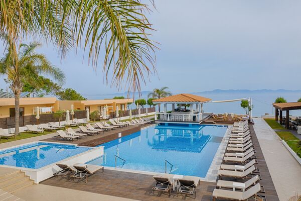 Holidays at Villa Di Mare Seaside Suites in Ixia, Rhodes