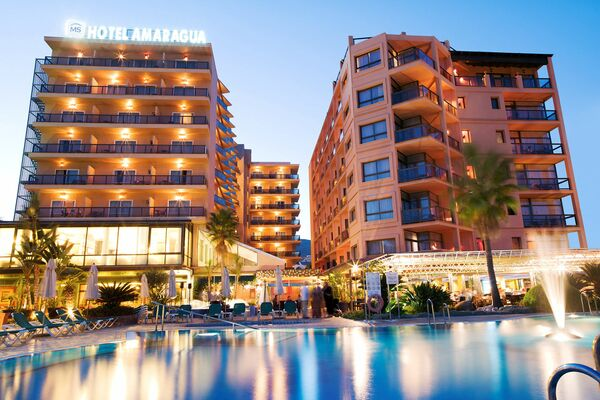 Holidays at MS Amaragua Hotel in Torremolinos, Costa del Sol