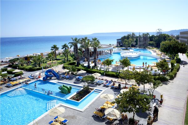 Holidays at Sunshine Rhodes Hotel in Ialissos, Rhodes
