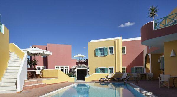 Holidays at Nikolas Hotel in Karterados, Santorini