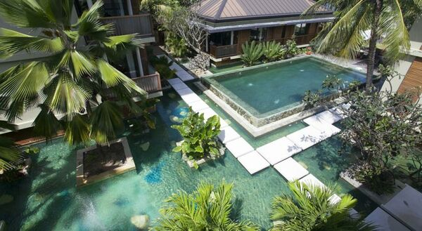 Holidays at Dhevatara Beach Hotel & Spa in Praslin, Seychelles