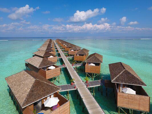 Holidays at Meeru Island Resort in Maldives, Maldives