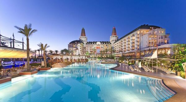 Holidays at Delphin Diva Hotel in Lara Beach, Antalya Region