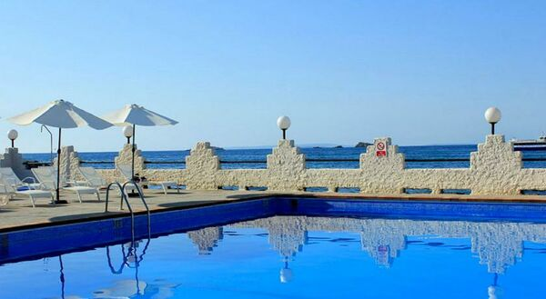 Holidays at Nautico Ebeso Hotel in Figueretas, Ibiza