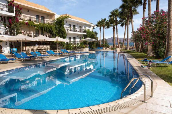 Holidays at Almyrida Beach Hotel in Almyrida, Crete
