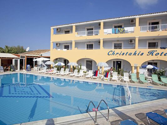 Holidays at Christakis Hotel Apartments in Sidari, Corfu