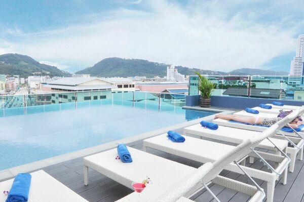 Holidays at The AIM Patong Hotel in Phuket Patong Beach, Phuket