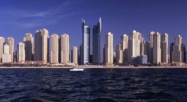 Holidays at Oasis Beach Tower Apartments in Palm Island Jumeirah, Dubai