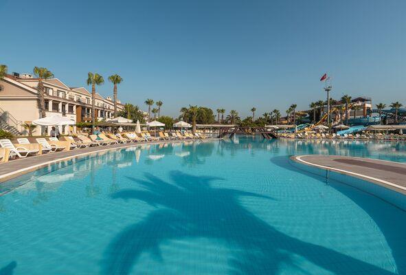 Holidays at Club Hotel Turan Prince World Hotel in Kizilagac Side, Side