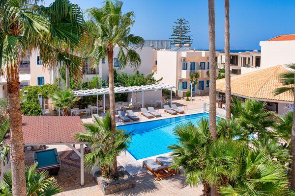 Holidays at Nana Angela Apartments in Analipsi Hersonissos, Hersonissos