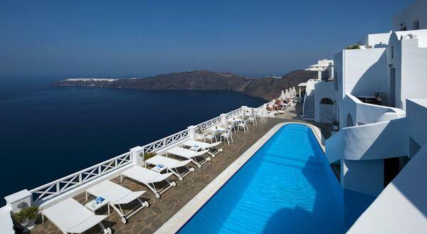 Holidays at Regina Mare Hotel in Imerovigli, Santorini