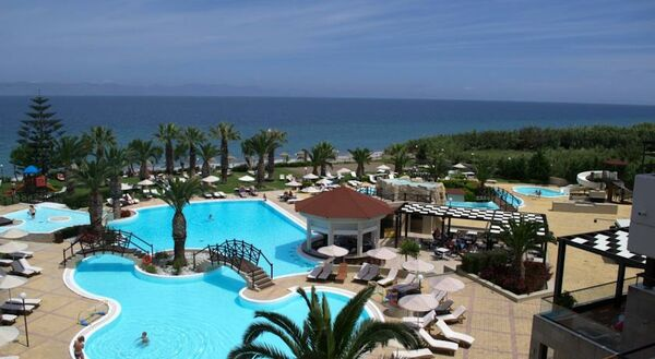 Holidays at D'Andrea Mare Beach Hotel in Ialissos, Rhodes