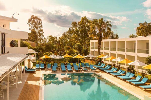 Holidays at Nasos Hotel & Resort in Moraitika, Corfu