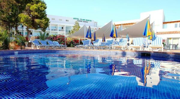 Holidays at Sirenis Club Siesta Hotel in Santa Eulalia, Ibiza