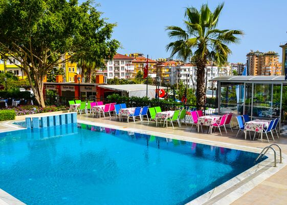 Holidays at Ark Suite Hotel in Alanya, Antalya Region