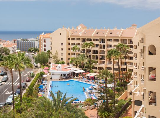 Holidays at Castle Harbour Apartments in Los Cristianos, Tenerife
