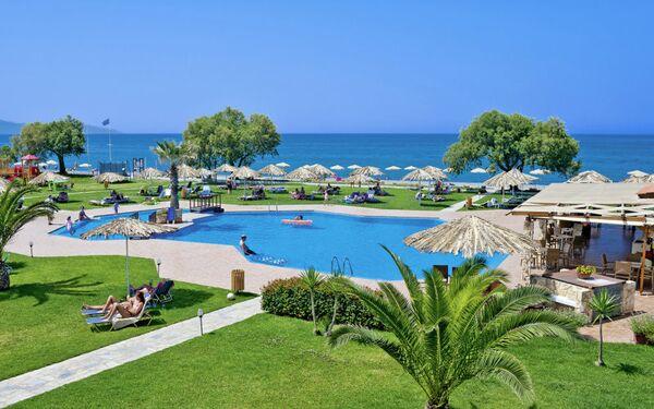 Holidays at Geraniotis Beach Hotel in Platanias, Chania