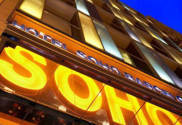 Holidays at Soho Hotel in Eixample, Barcelona