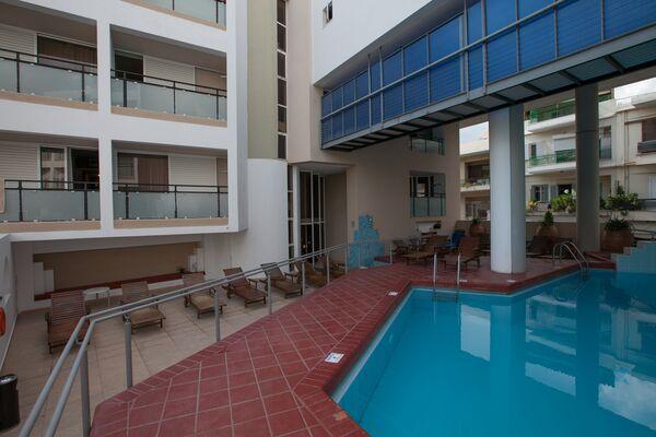 Holidays at Santa Marina Hotel in Aghios Nikolaos, Crete