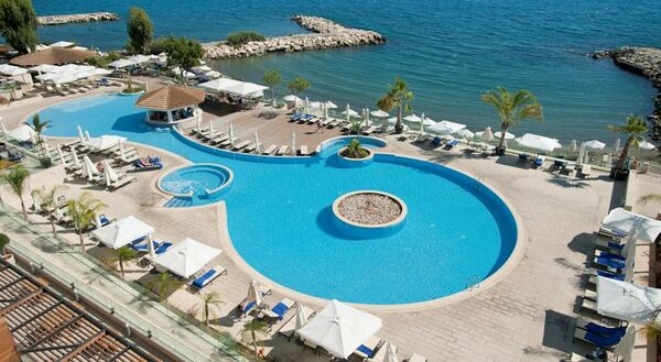 Holidays at Royal Apollonia Beach Hotel in Limassol, Cyprus