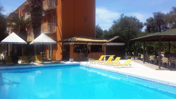 Holidays at Pantheon Hall Hotel in Messonghi, Corfu