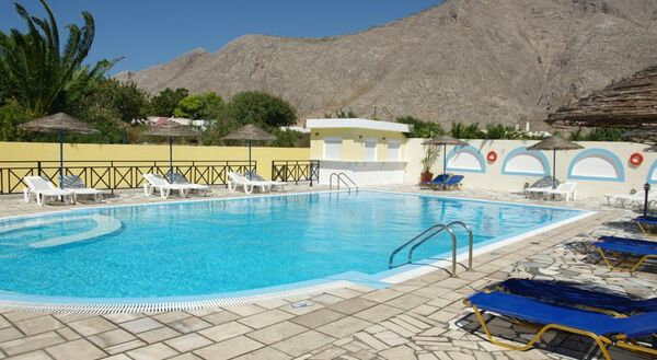 Holidays at Mary Bill Hotel in Perissa, Santorini