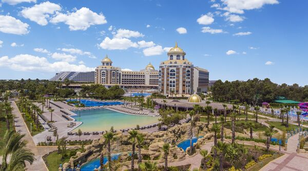 Holidays at Delphin Be Grand Resort in Kundu, Lara Beach