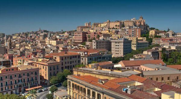 Holidays at Regina Margherita Hotel in Cagliari, Sardinia