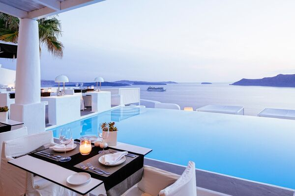 Holidays at Kirini Suites & Spa - Adults Only in Oia, Santorini