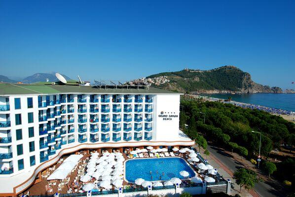 Holidays at Grand Zaman Beach Hotel in Alanya, Antalya Region