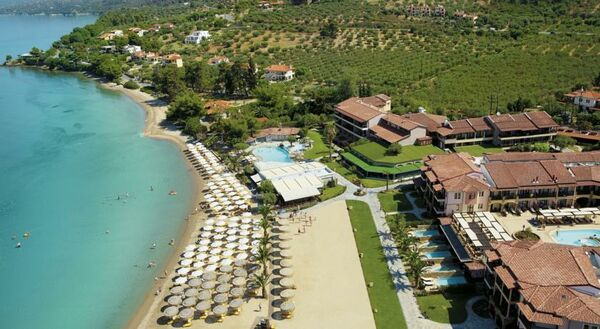 Holidays at Anthemus Sea Beach Hotel & Suites in Elia Beach, Halkidiki