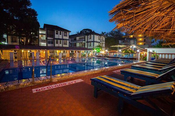 Holidays at Beiramar Alfran Resort Hotel in Baga Beach, India