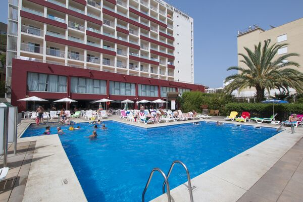 Holidays at Medplaya Santa Monica Hotel in Calella, Costa Brava