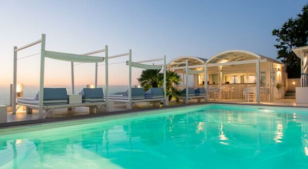 Holidays at Andromeda Villas in Imerovigli, Santorini