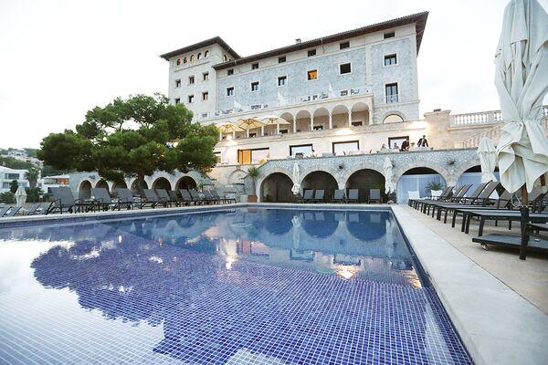Holidays at Hospes Maricel & Spa in Illetas, Majorca